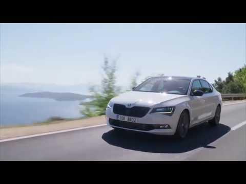 SKODA Superb Sportline - Driving Video Trailer | AutoMotoTV