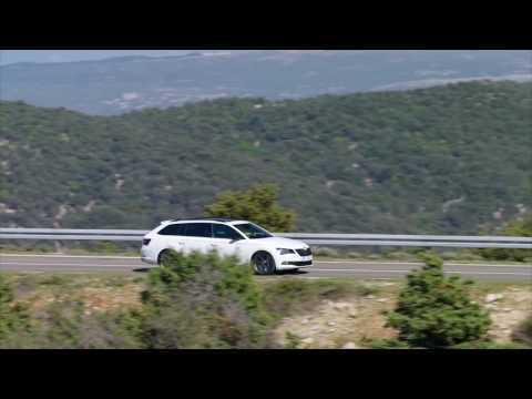 SKODA Superb Sportline Combi - Driving Video Trailer | AutoMotoTV