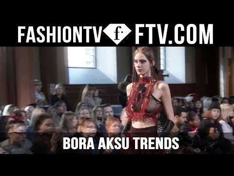 London Fashion Week Fall/Winter 2016-17 - Bora Aksu Trends | FTV.com