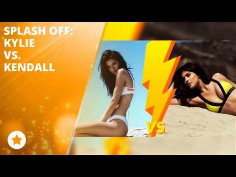 Splash Off: The Jenner sisters face off