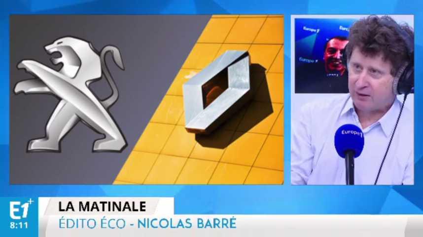 Illustration pour la vidéo Renault et PSA surfent sur la croissance du marché français