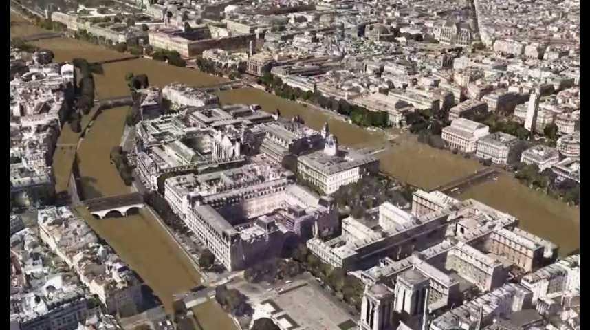 Illustration pour la vidéo 3D : à quoi ressemblerait Paris sous la crue centennale ?
