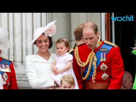 Princess Charlotte Makes Royal Palace Balcony Debut