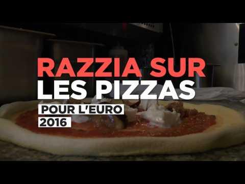 Euro 2016 : razzia sur les pizzas les soirs de match