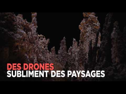 Il photographie des paysages à la lumière des drones (et c'est magique)