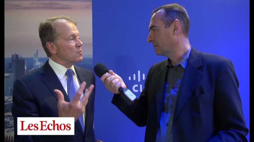 """Illustration pour la vidéo John Chambers (Cisco) : """"La France va devenir la capitale européenne des start-up"""""""