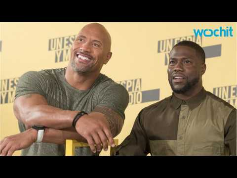The Rock And Kevin Hart Impersonate Each Other