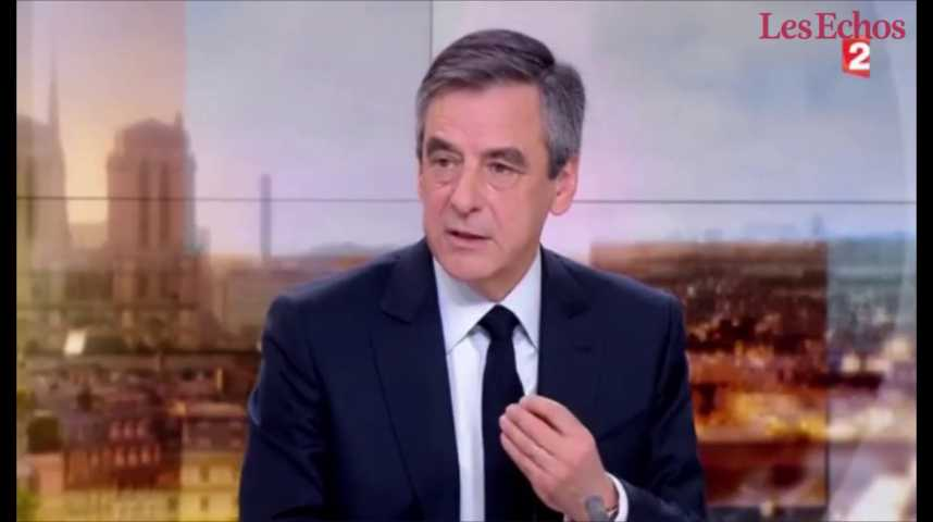 Illustration pour la vidéo François Fillon maintient sa candidature après le rassemblement au Trocadéro