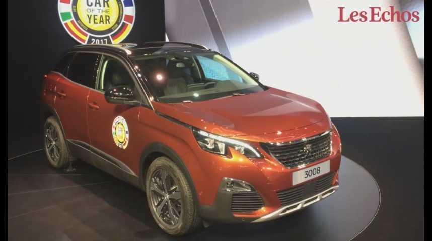 Illustration pour la vidéo Salon de Genève : découvrez la Peugeot 3008, élue voiture de l'année 2017