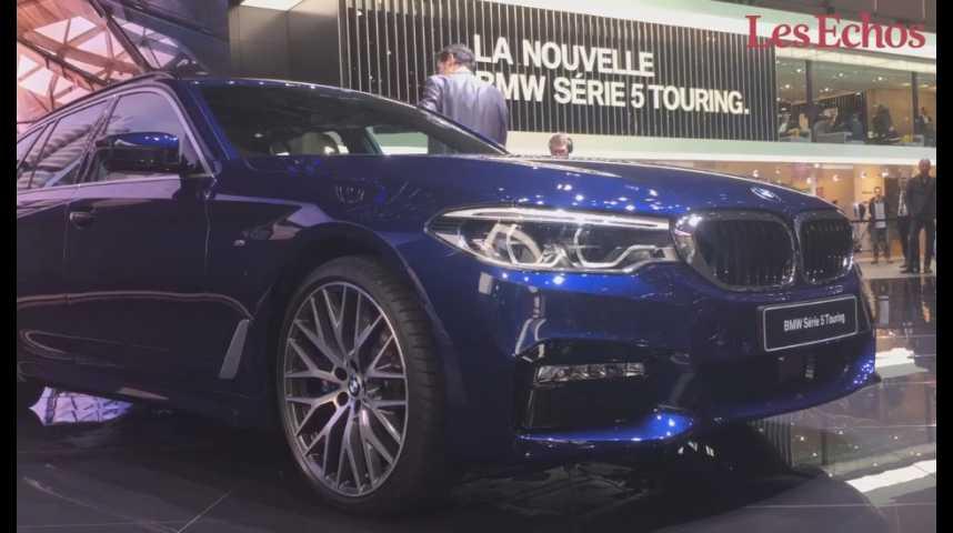 Illustration pour la vidéo Salon de Genève : découvrez la BMW série 5 Touring