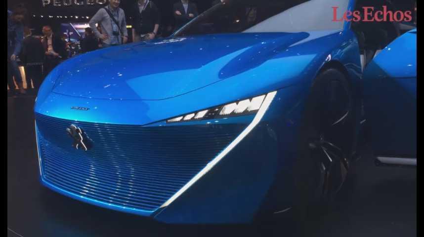 Illustration pour la vidéo Salon de Genève : découvrez le Concept Peugeot Instinct car