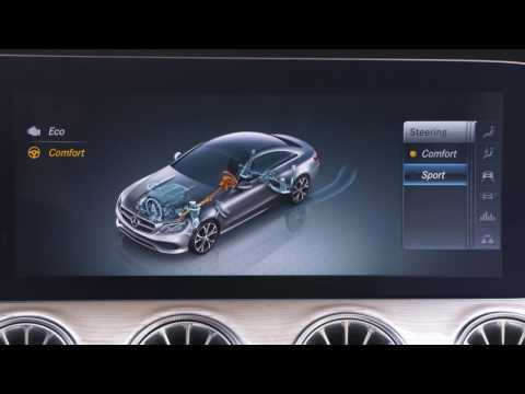 The new Mercedes-Benz E 220 d 4MATIC Coupe Interior Design in Hyacinth Red Metallic | AutoMotoTV