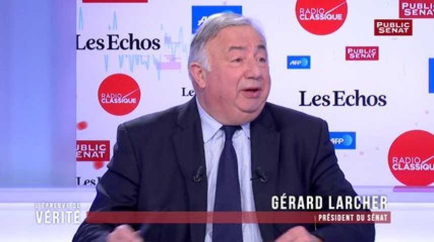 Illustration pour la vidéo « Je suis sans réserve aux côtés de François Fillon », estime Gérard Larcher