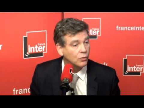 """Montebourg : """"J'appelle au retrait de la candidature de Jean-Luc Mélenchon"""""""