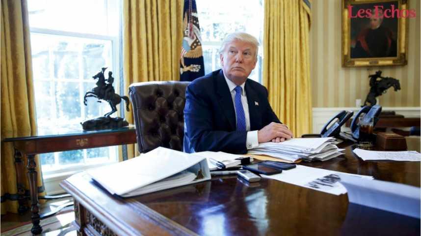 Illustration pour la vidéo Le décret anti-immigrés de Trump (encore) rejeté
