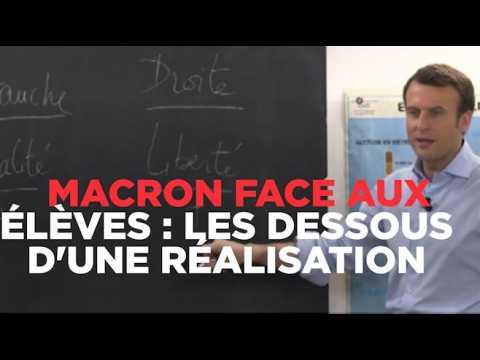 Macron face aux élèves : comment cette vidéo virale a été réalisée