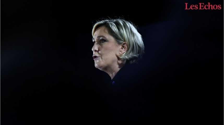 Illustration pour la vidéo Impôt sur le revenu, ISF... Le programme fiscal de Marine Le Pen