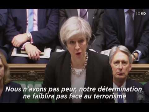 """May : """"Nous n'avons pas peur"""""""