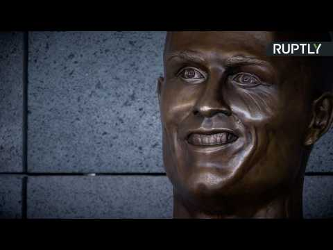 Bizarre Cristiano Ronaldo Bust Unveiled as Madeira Airport Renamed After Legend