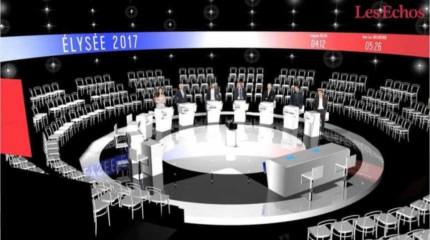 Illustration pour la vidéo Mode d'emploi du débat présidentiel avec 11 candidats