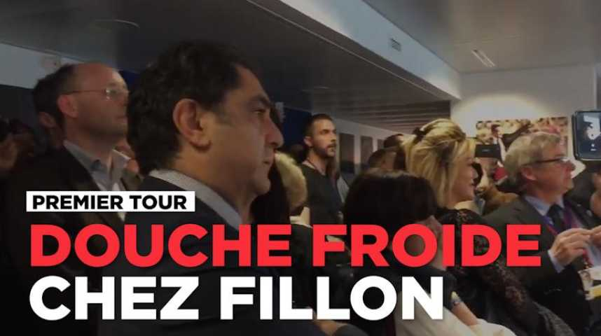 douche froide dans le qg de campagne de fran ois fillon. Black Bedroom Furniture Sets. Home Design Ideas