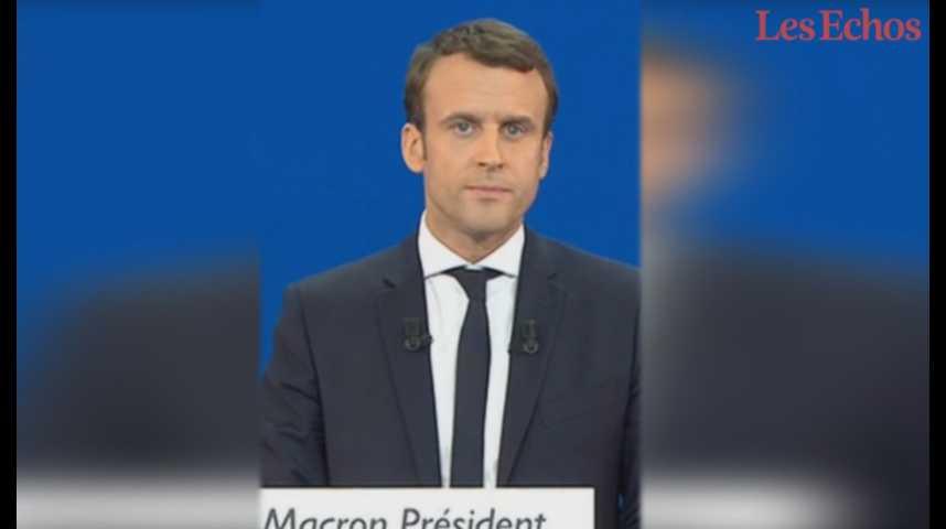 """Illustration pour la vidéo Emmanuel Macron s'estime prêt à """"refonder la France"""""""