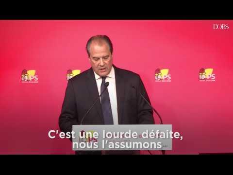 """Cambadélis (PS) sur le 1er tour : """" C'est la fin d'une époque"""""""