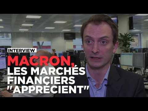 """Macron au second tour : les marchés financiers """"apprécient"""""""