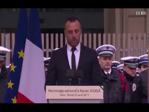 Réécoutez en intégralité l'hommage émouvant du compagnon de Xavier Jugelé, le policier tué sur les Champs-Elysées