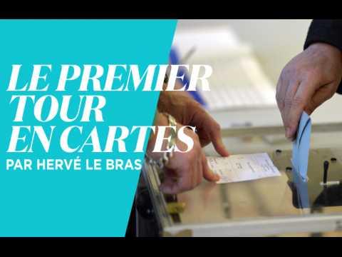 Cartes : les résultats du premier tour décryptés en 3 minutes par Hervé Le Bras