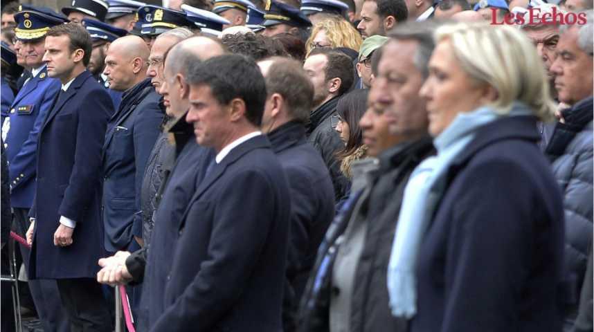 Illustration pour la vidéo Macron – Le Pen : deux stratégies différentes