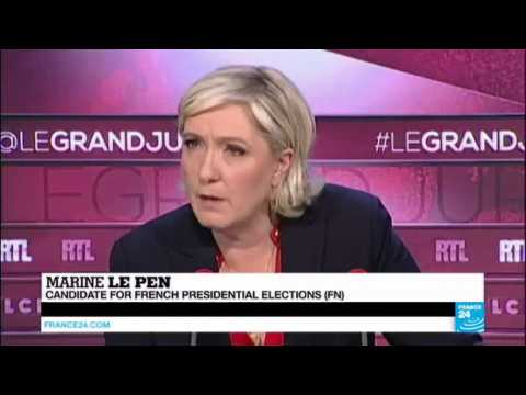 France: Extreme-right leader Le Pen denies French responsibility in WWII round up of Paris Jews