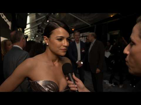 'The Fate of the Furious' Premiere: A Sexy MIchelle Rodriguez