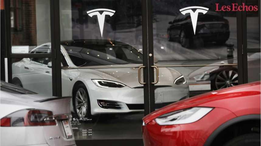 Illustration pour la vidéo Bourse : Tesla dépasse General Motors