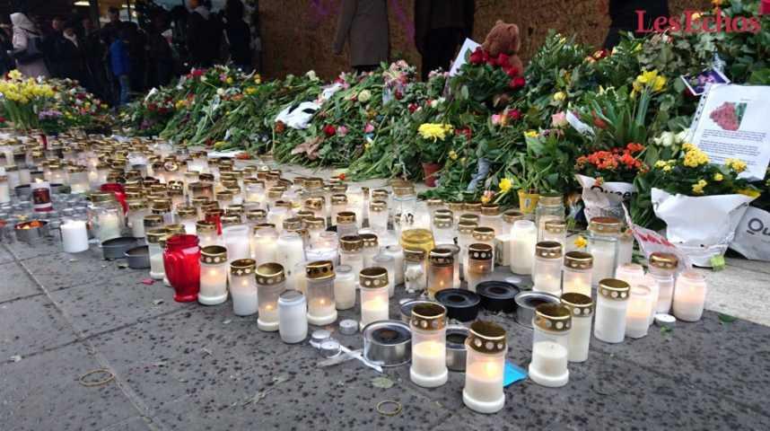 Illustration pour la vidéo Stockholm : le suspect reconnaît un acte terroriste