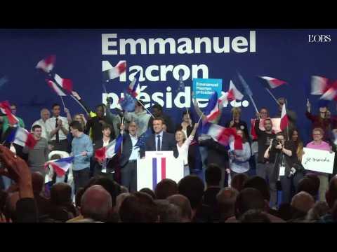 """Macron : les Français ne veulent pas passer une """"bonne journée de gauche ou de droite"""""""