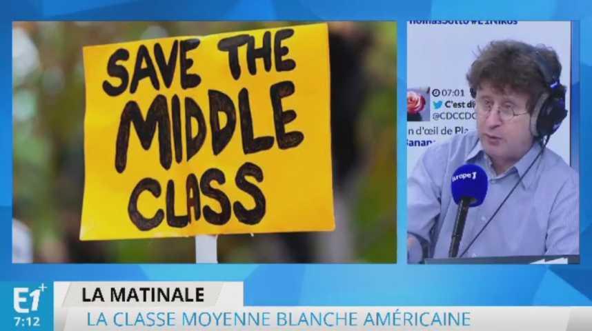 Illustration pour la vidéo États-Unis : forte hausse de la mortalité de la classe moyenne blanche et peu diplômée