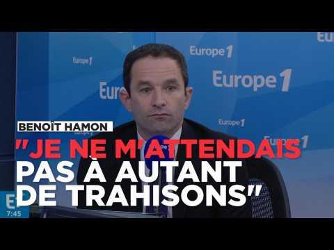 """Benoît Hamon : """"Je ne m'attendais pas à autant de trahisons"""""""