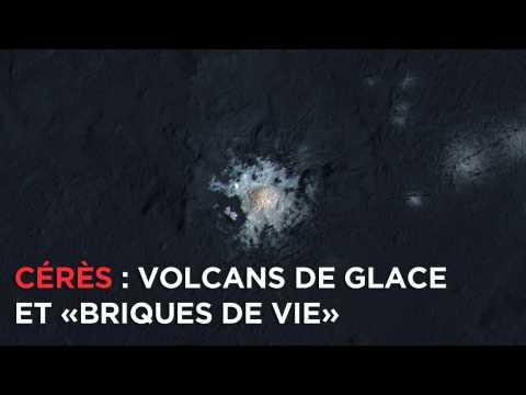 Découvrez Cérès, ses volcans de glace et ses briques de vie