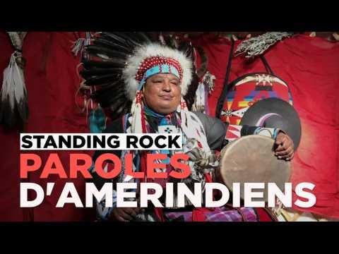 Oléoduc dans le Dakota : les Indiens d'Amérique délivrent un message de paix
