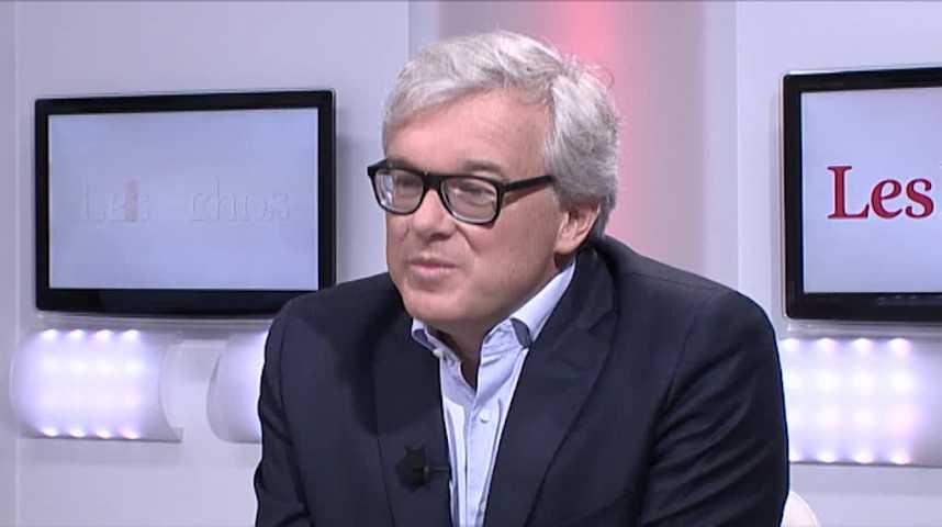 Illustration pour la vidéo « La carte essence représente 20% de notre chiffre d'affaires », Bertrand Dumazy (PDG d'Edenred)
