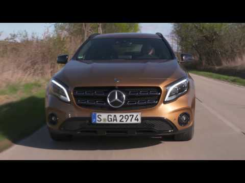 Mercedes-Benz GLA 220 d Driving Video in Canyon beige | AutoMotoTV
