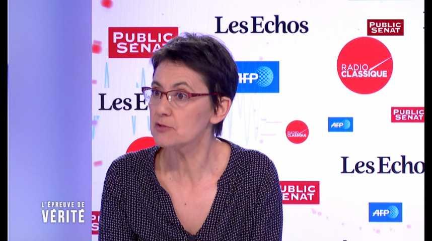 """Illustration pour la vidéo """"Il ne faut pas se laisser abuser par cette comédie électorale"""", estime Nathalie Arthaud"""