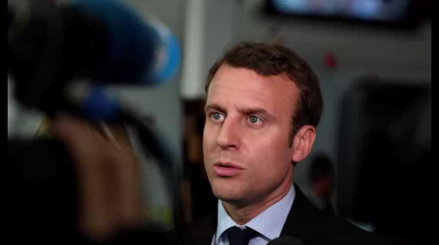 Illustration pour la vidéo Présidentielle : Macron tacle à nouveau Hollande