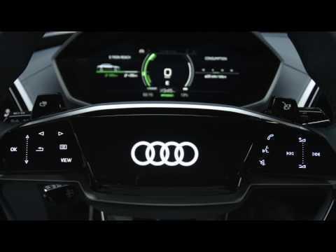Audi e-tron Sportback concept - Interior Design Trailer | AutoMotoTV