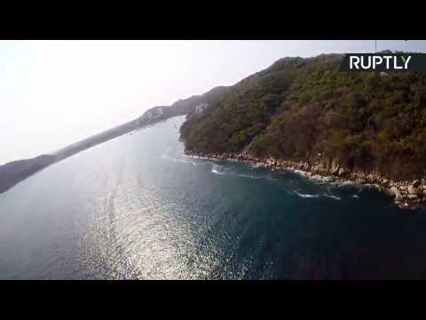 Are You Brave Enough to Fly 75mph Along World's Longest Over-Water Zip Line