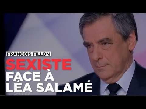 Sexiste, François Fillon sous-entend que Léa Salamé n'a pas suivi l'actu à cause de sa grossesse