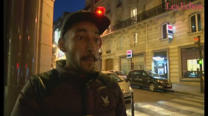 Illustration pour la vidéo Fusillade des Champs-Elysées : un témoin raconte