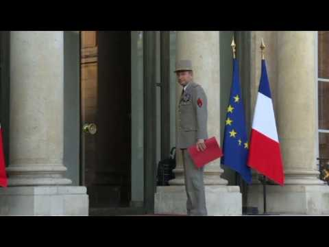 French government meets day after Champs Elysées attack