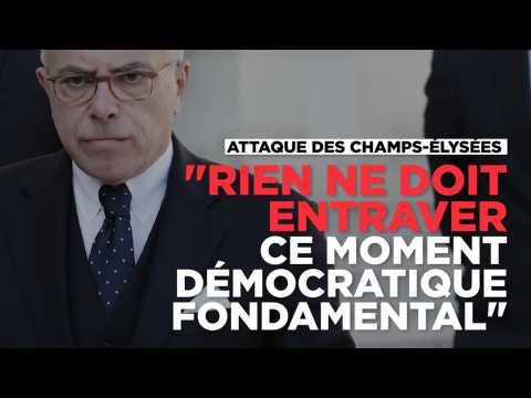 """Cazeneuve sur la fusillade : """"Rien ne doit entraver le moment démocratique"""" de la présidentielle"""